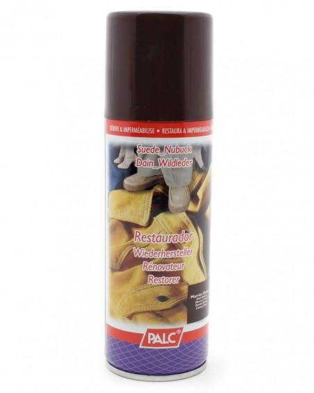 Ciemnobrązowa pasta, renowator do zamszu nubuku, Palc, 200 ml