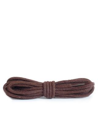 Brązowe, okrągłe cienkie, sznurówki do butów, 150 cm, Kaps
