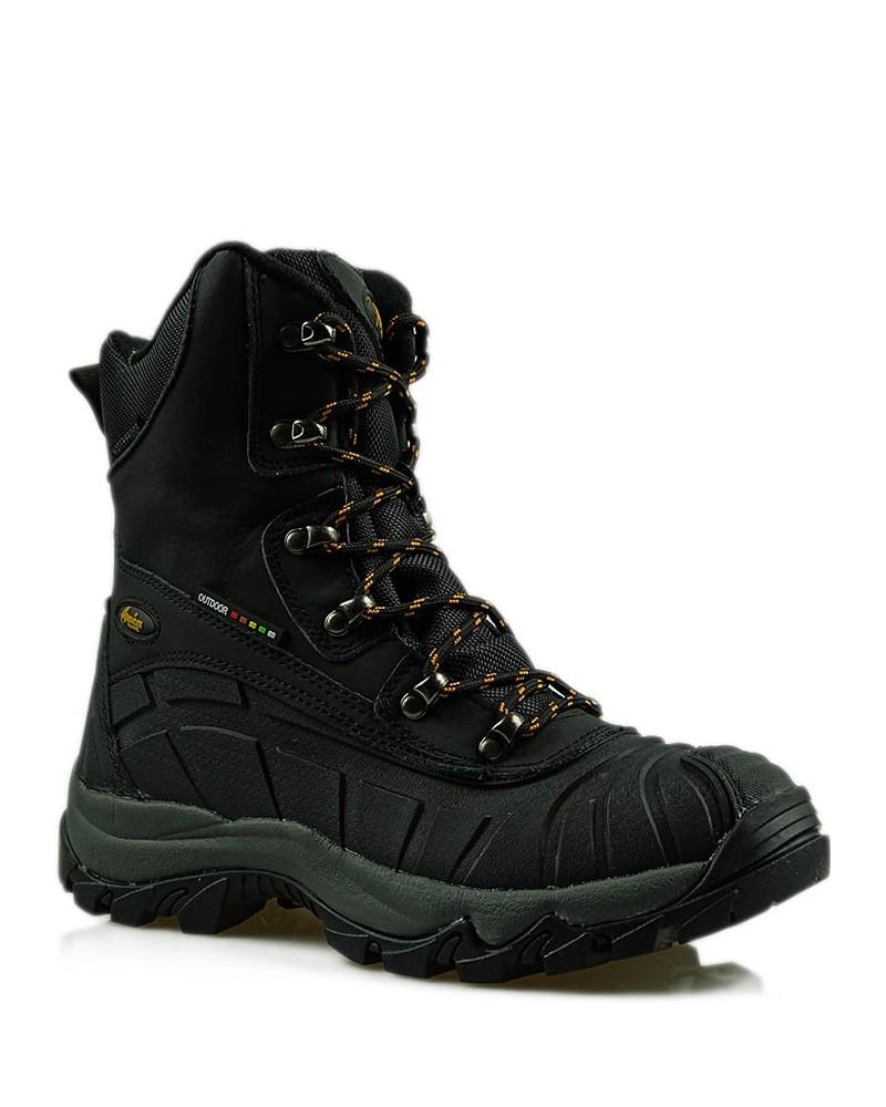 Śniegowce buty skórzane damskie LOS7573