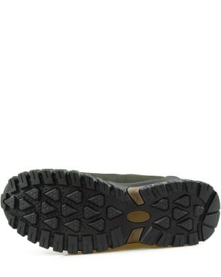 Buty trekkingowe, miodowe, skórzane, męskie, TF201303004