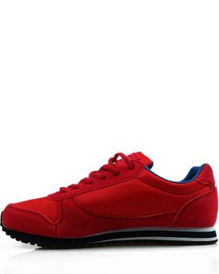 Adidasy damskie, młodzieżowe, czerwone, 33101-A, American