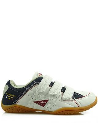 Adidasy dziecięce na rzepy, 8693, American, White/Blau/Red
