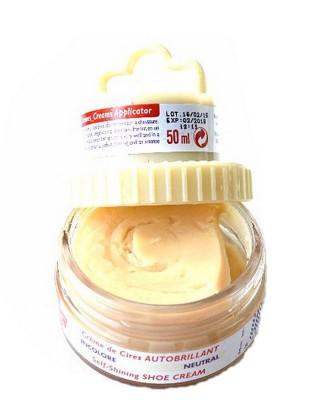 Bezbarwna pasta woskowa, nabłyszczająca, 2 w 1, Shoe Cream, Palc