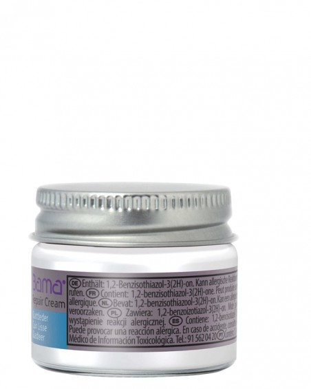 Biały reperator koloru do skóry licowej, Repair Cream, Bama