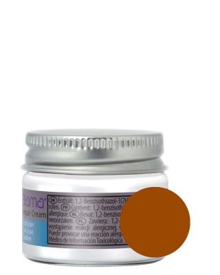 Brązowy reperator koloru do skóry licowej, Repair Cream, Bama