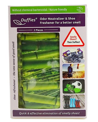 Odświeżające poduszki do obuwia, Duffies Antyzapachowe, uniwersalne