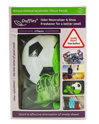 copy of Odświeżające poduszki do obuwia, Duffies Antyzapachowe, dla piłkarzy