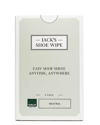 Jack's Shoe Wipe Collonil, chusteczki do czyszczenia, pielęgnacji obuwia, 4 szt