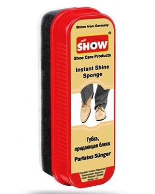Gąbka do nabłyszczania obuwia, Instant Shine Sponge, bezbarwna, Show