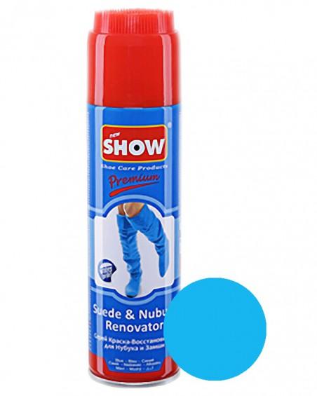 Niebieski renowator, pasta do zamszu nubuku, Show, 250 ml