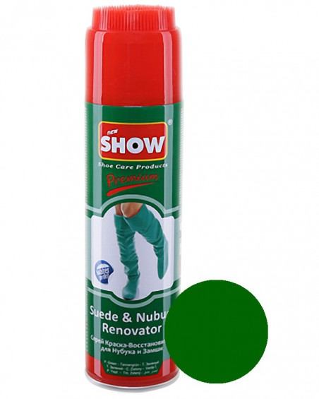 Zielony renowator, pasta do zamszu nubuku, Show, 250 ml