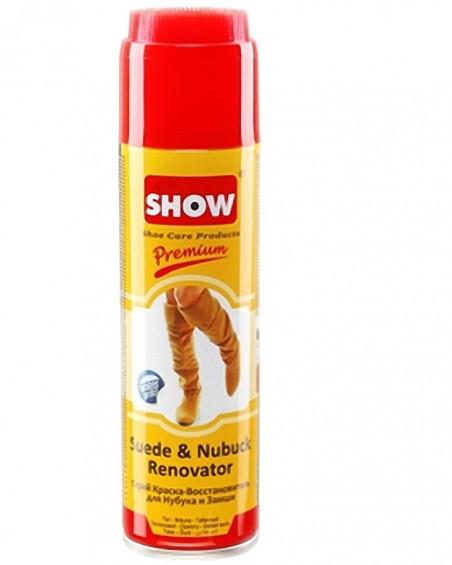 Żółty renowator, pasta do zamszu nubuku, Show, 250 ml