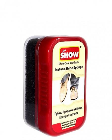 Mini gąbka do czyszczenia, nabłyszczania butów, Show, bezbarwna