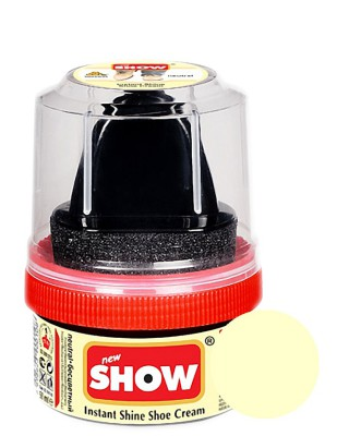 Bezbarwna pasta woskowa, nabłyszczająca, Shoe Cream, Show