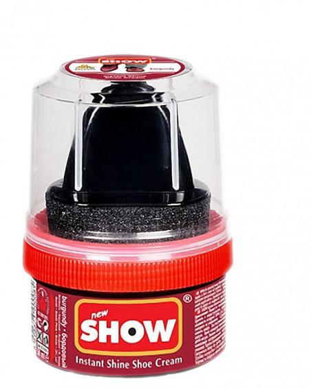 Bordowa pasta woskowa, nabłyszczająca, Shoe Cream, Show