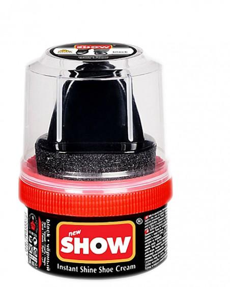 Czarna pasta woskowa, nabłyszczająca, Shoe Cream, Show