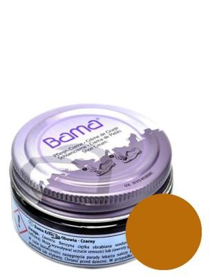 Jasnobrązowy, koniakowy krem, pasta do butów, Shoe Cream Bama, 045, 50 ml, do skóry licowej
