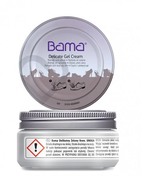 Delicate Gel Cream Bama, pielęgnacja skór gładkich, lakierowanych, 50 ml