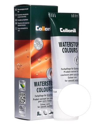 Biała pasta do butów, Waterstop Collonil 026, Off White, 75 ml