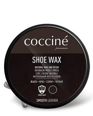 Czarna pasta z woskiem do butów, Shoe Wax, Coccione