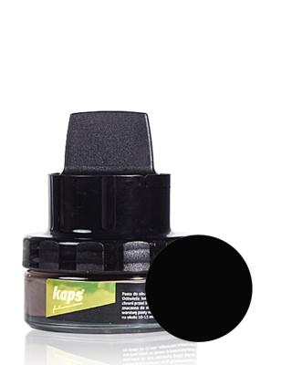 Czarna pasta do butów z woskiem, Color Wax, Kaps