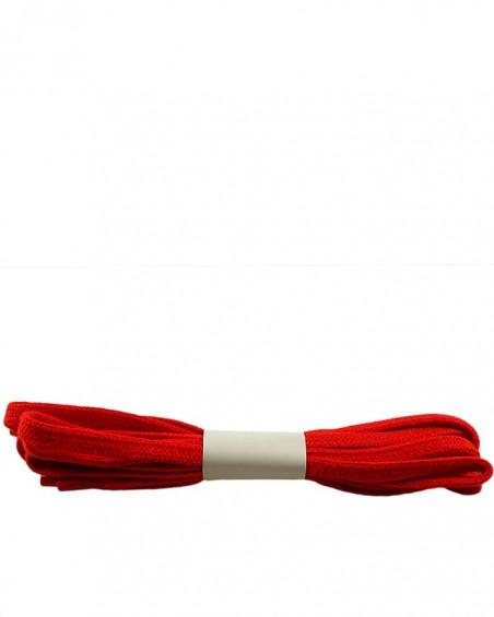 Czerwone, płaskie, sznurówki do butów, 120 cm, Halan
