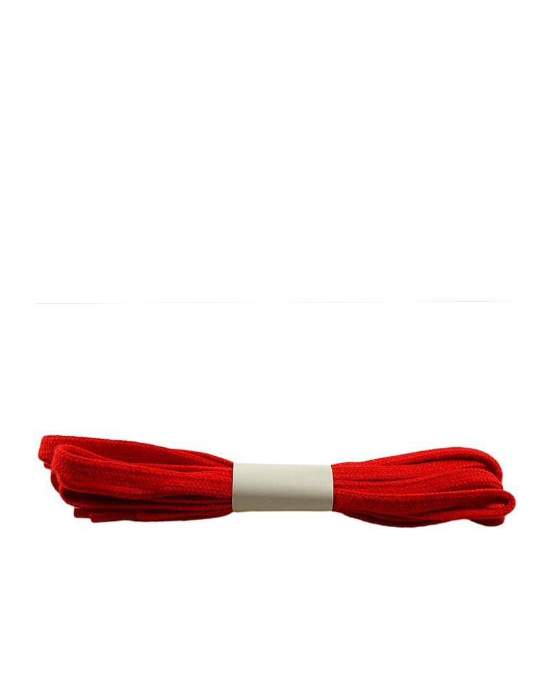 Czerwone, płaskie, sznurówki do butów, 90 cm, Halan