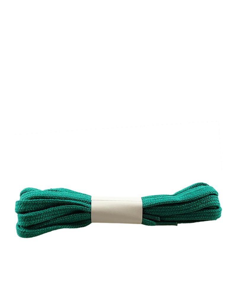 Zielone, płaskie, sznurówki do butów, 100 cm, Halan