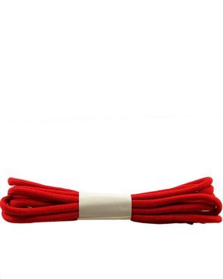 Czerwone, trekkingowe sznurówki do butów, 120 cm, Halan