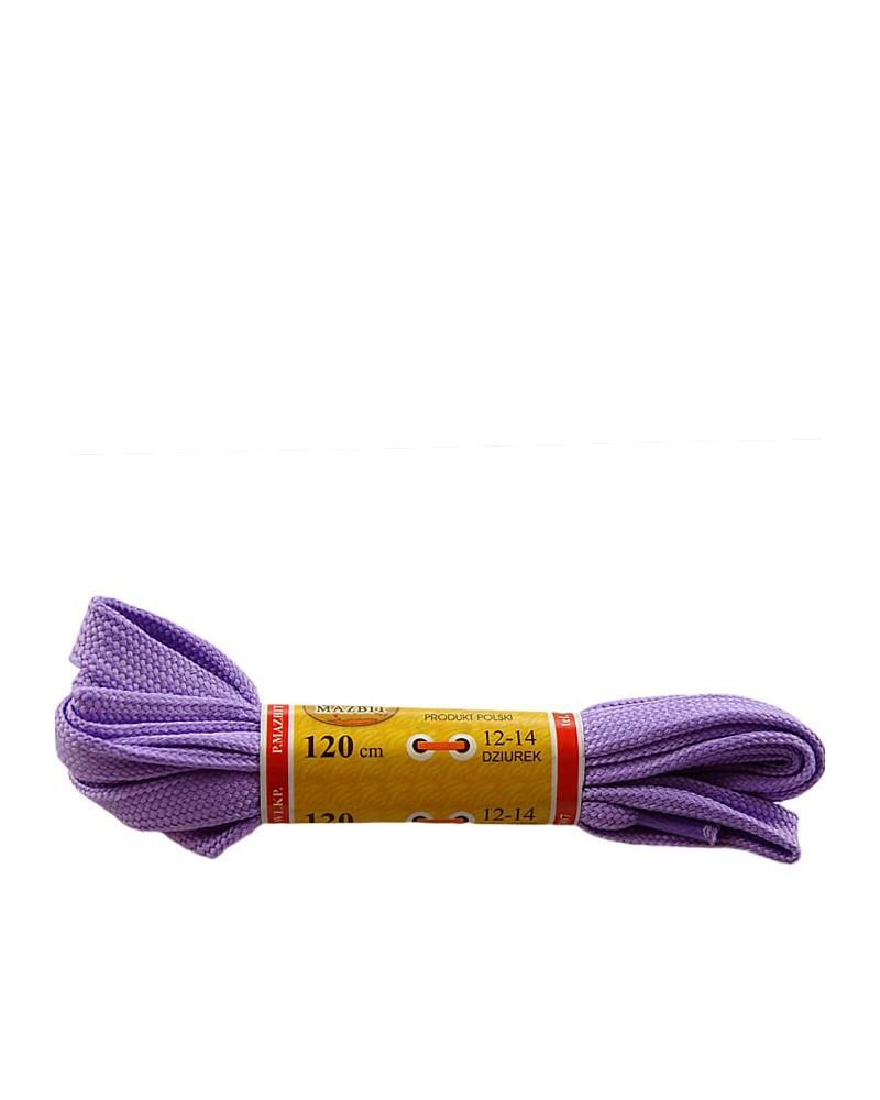 Jasnofioletowe, płaskie, sznurówki do butów, sport, 90 cm