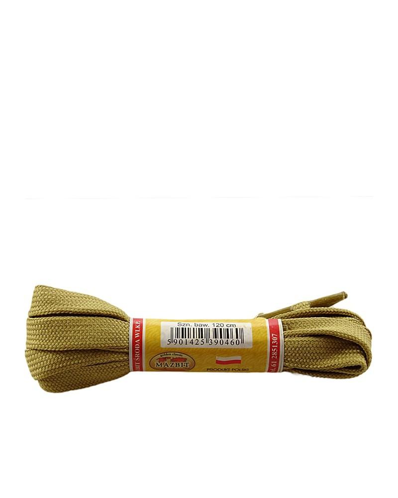 Płaskie, jasnorude, sznurówki do butów, sport, 10, 90 cm