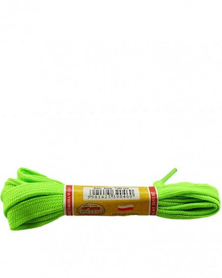 Płaskie, seledynowe, sznurówki do butów, sport, 10, 120 cm