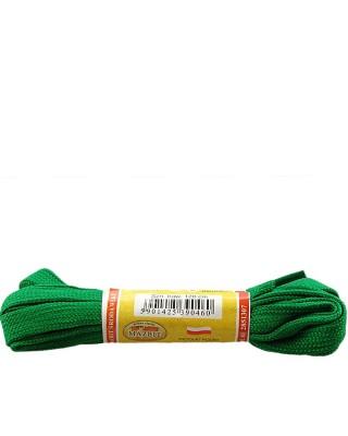 Płaskie, zielone, sznurówki do butów, sport, 10, 120 cm