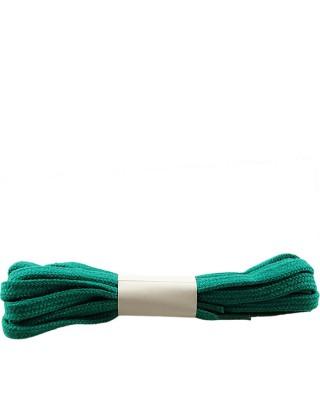 Zielone, płaskie, sznurówki do butów, 90 cm