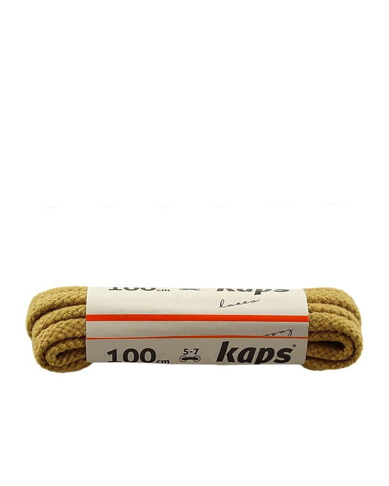 Beżowe, grube, sznurówki do butów, 120 cm, Kaps