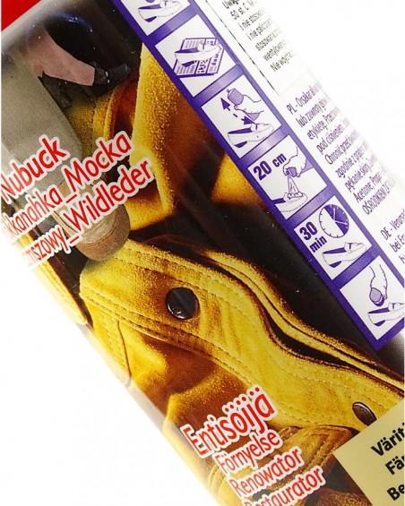 Bezbarwna pasta, renowator do zamszu nubuku, Palc, 200 ml