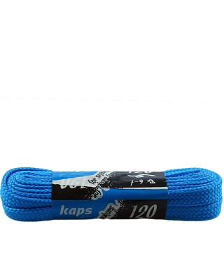 Jasnoniebieskie, płaskie sznurówki do butów, sneakers, 120 cm
