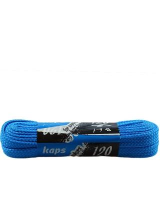 Jasnoniebieskie, płaskie sznurówki do butów, sneakers, 140 cm