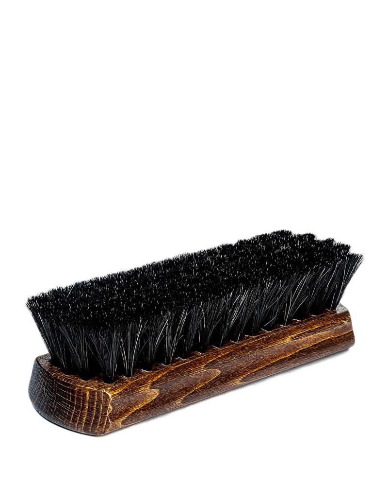 Szczotka z włosia końskiego do polerowania butów, ciemna, Collonil
