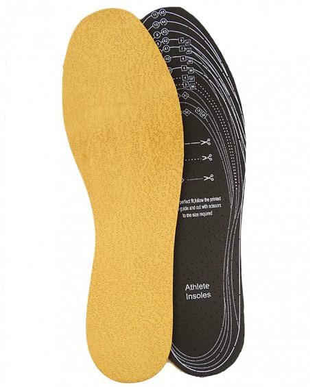 Wkładki do butów, skóra Pekari na lateksie 078, do wycinania