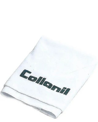 Ściereczka do czyszczenia, polerowania butów bawełniana biała Collonil