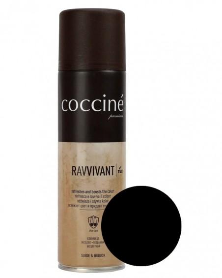 Czarna pasta, renowator do zamszu nubuku, Revvivant Coccine