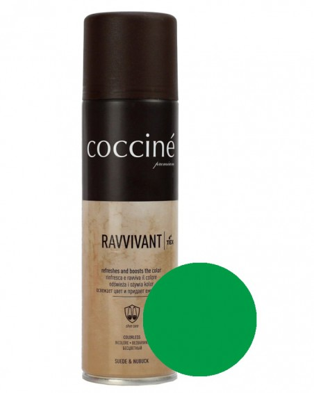 Zielona pasta, renowator do zamszu nubuku, Revvivant Coccine