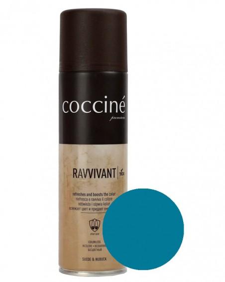 Niebieska pasta, renowator do zamszu nubuku, Revvivant Coccine