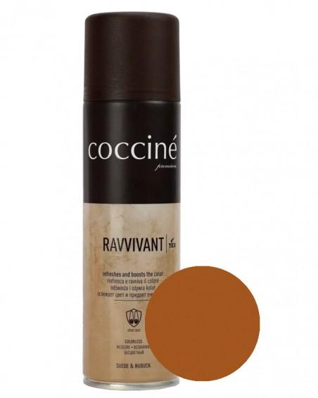 Brązowa pasta, renowator do zamszu nubuku, Revvivant Coccine