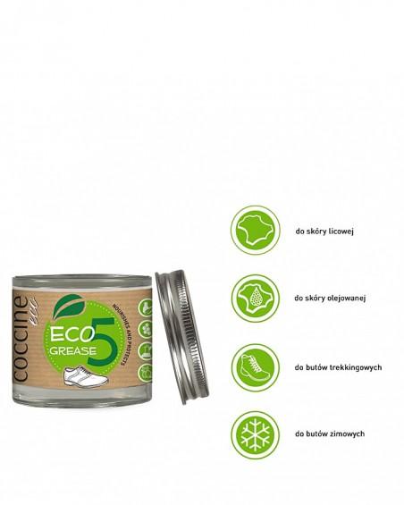 Eco Grease Coccine, ekologiczny tłuszcz ochronny do butów