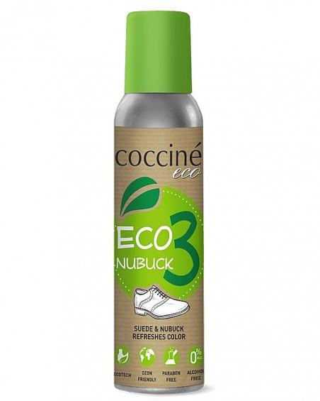 Eco Nubuk Coccine, czarny ekologiczny renowator do zamszu nubuku