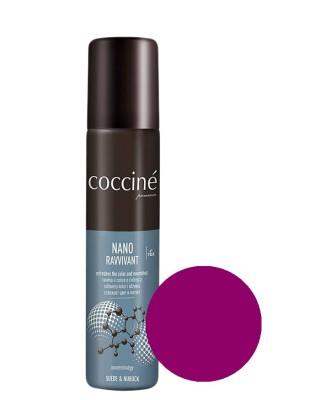 Nano Revvivant Coccine, różowa pasta do zamszu nubuku