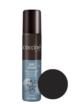 Nano Revvivant Coccine, czarna pasta do zamszu, nubuku
