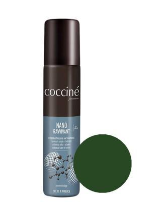 Nano Revvivant Coccine, ciemnozielona pasta do zamszu, nubuku